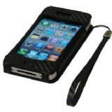 Groov-e Leather Case for iPhone 4 + Screen Protector